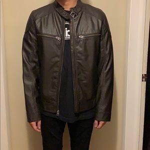 Never Worn Target men's leather jacket